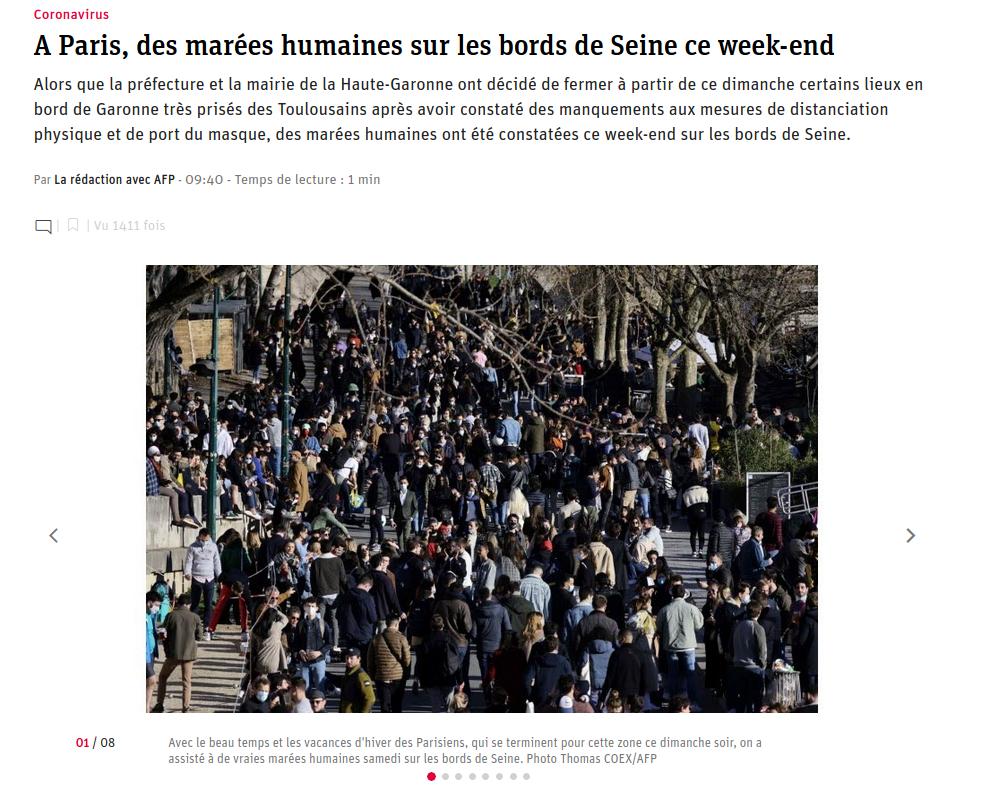 À Paris, des marées humaines sur les bords de Seine ce week-end